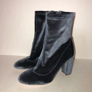 Sam Edelman Velvet booties